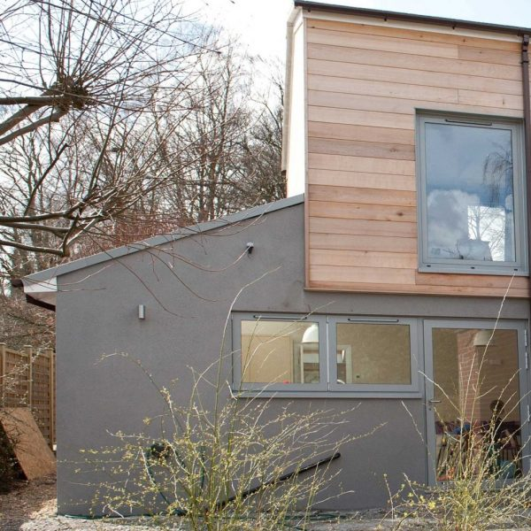 Extension to 1960s house